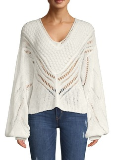 Free People Snowball Knit Sweater