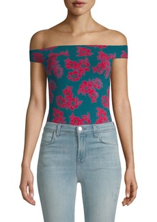 Free People So Much Off-the-Shoulder Bodysuit