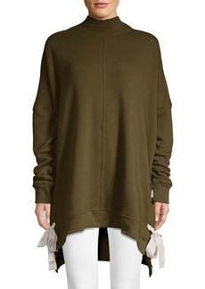 Free People So Plush Mockneck Sweatshirt