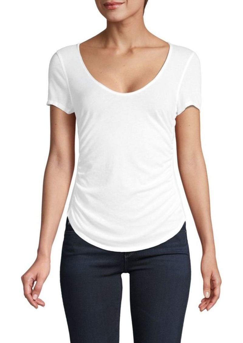 Free People Sonnet Ruched T-Shirt