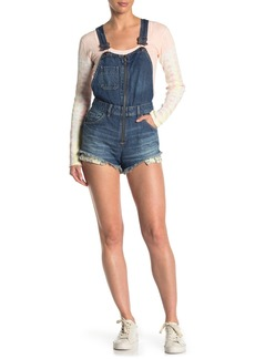 Free People Sunkissed Short Overalls
