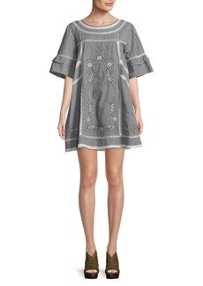 Free People Sunny Day Trapeze Dress