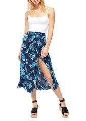 Free People Sunray Floral Sarong Skirt