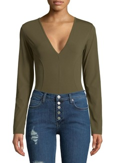Free People Super Soft Deep V-Neck Bodysuit