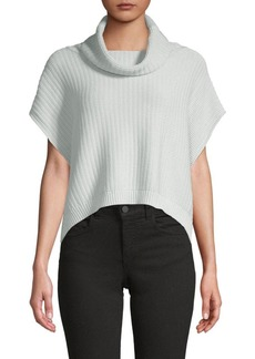 Free People Textured Cowlneck Sweater