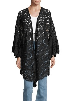 Free People Tie-Front Lace Topper