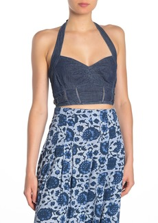 Free People Tightly Bound Crop Top
