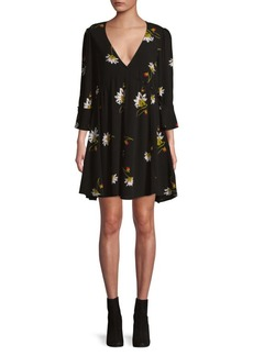 Free People Time On Your Side Mini Dress