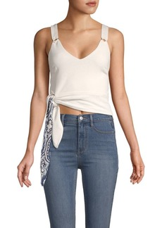 Free People V-Neck Cropped Tank Top