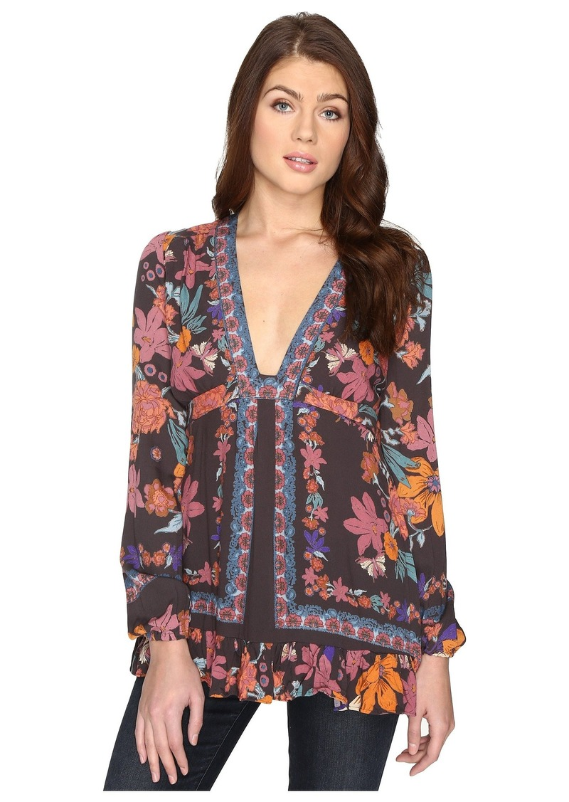 Free People Violet Hill Printed Tunic