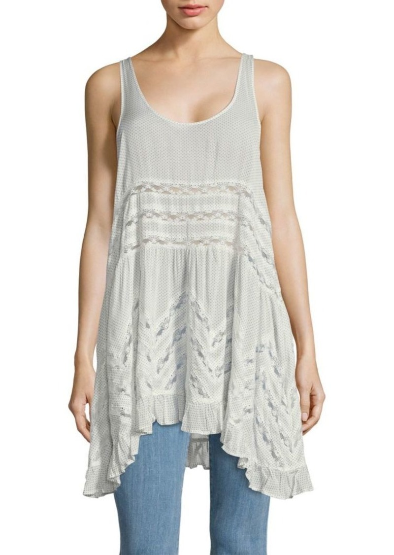 Free People Voile Trapeze Slip Dress