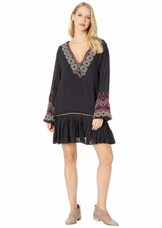 Free People Wild One Embellished Mini Dress