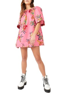 Women's Free People Jodie Floral Cotton Tunic