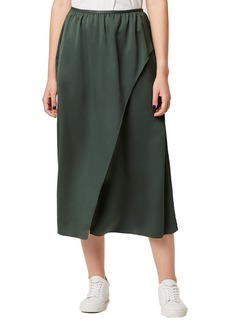 French Connection Alessia Surplice Front Midi Skirt