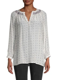 French Connection Almedi Printed Blouse