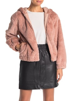French Connection Arabella Faux Fur Jacket