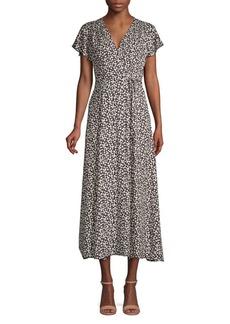French Connection Aubi Floral Wrap Dress