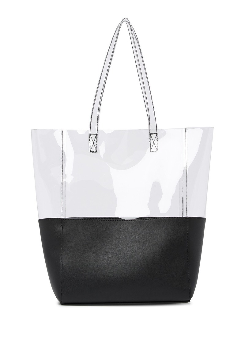 French Connection Babette Translucent Tote Bag