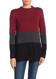 French Connection Baby Soft Normie Colorblock Sweater