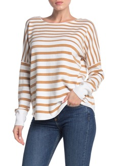 French Connection Baby Soft Striped Boatneck Sweater