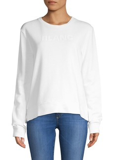 French Connection Blanc Cotton Sweater