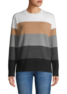 French Connection Block Stripes Sweater