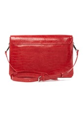 French Connection Bobby Embossed Large Messenger Bag