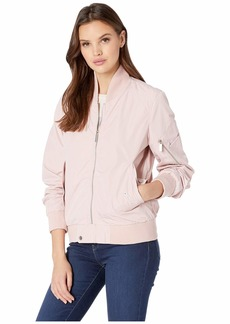 French Connection Bomber Jacket w/ Sleeve Pocket