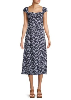 French Connection Cersier Printed Dress Dress