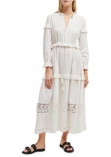 French Connection Colette Cotton A-Line Maxi Dress