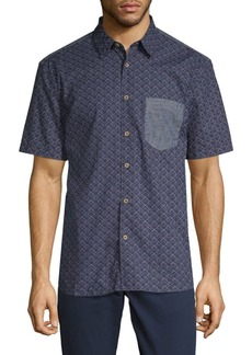 French Connection Cotton Patch Pocket Shirt