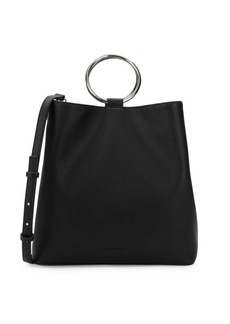 French Connection Dante Faux Leather Tote
