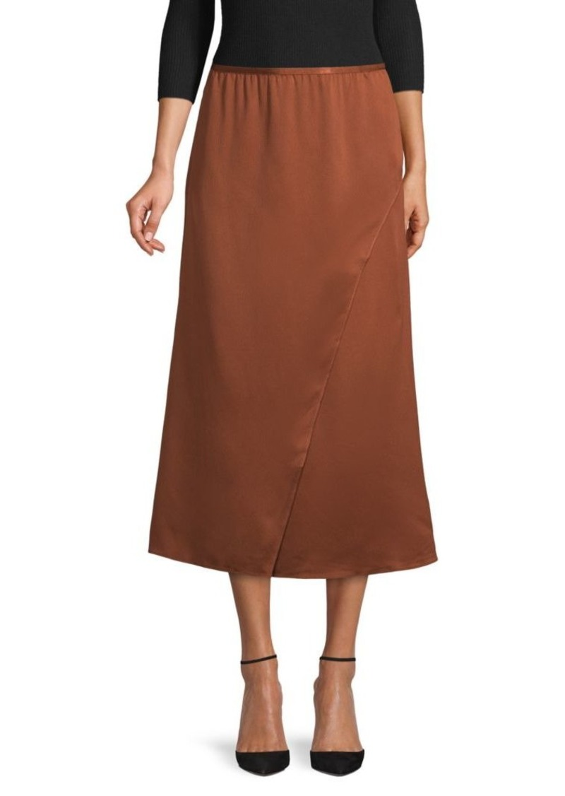 French Connection Drape Midi Skirt