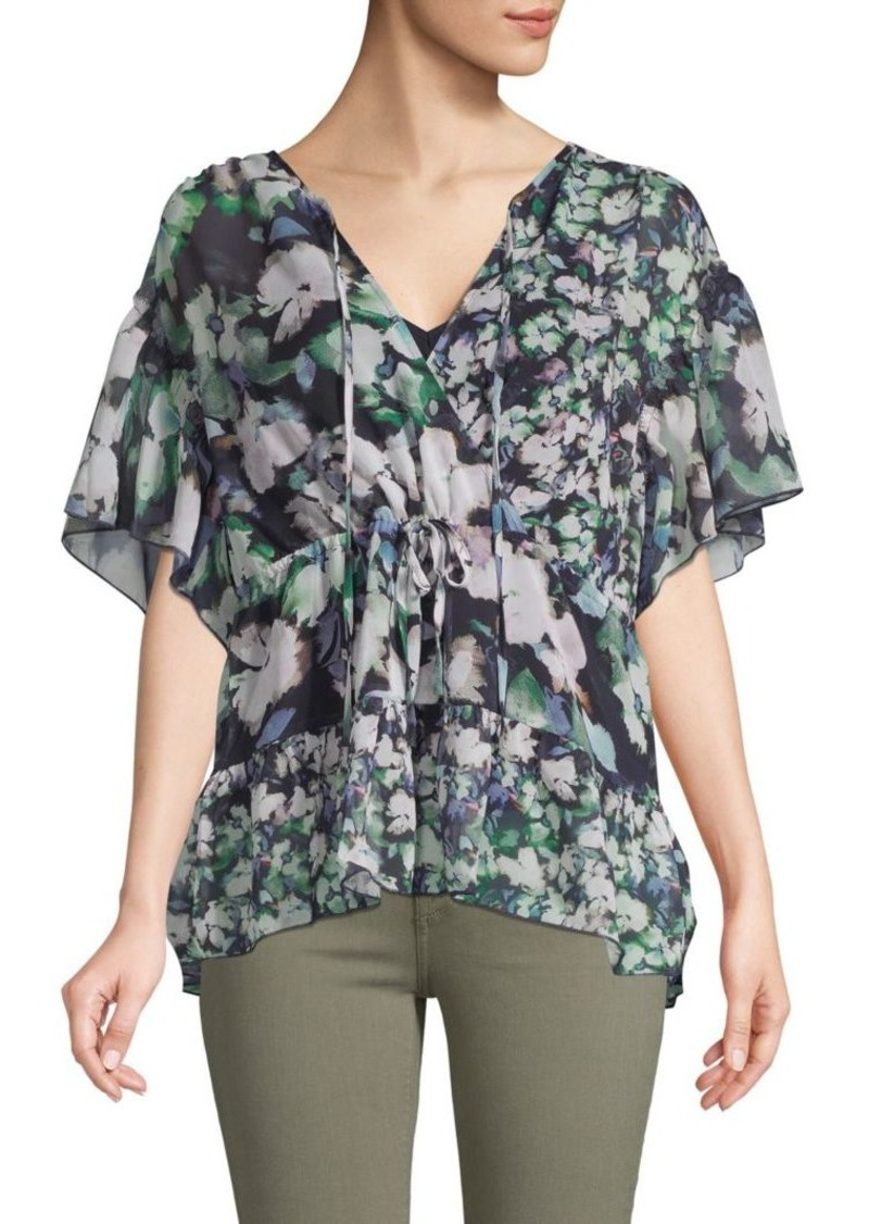 French Connection Dreda Floral Georgette Blouse