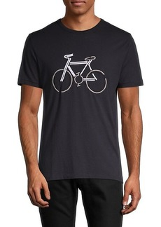 French Connection Embroidered Bicycle T-Shirt
