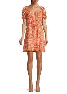 French Connection Etta Kiss-Print Dress