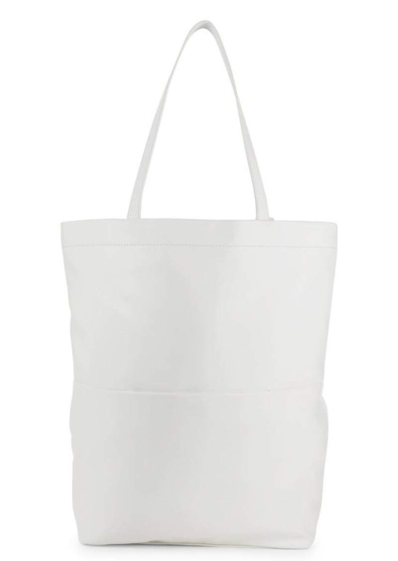 French Connection Ellis North Faux Leather Tote