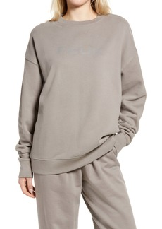 French Connection FCUK Women's Oversize Graphic Sweatshirt