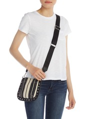 French Connection Fina Canvas Crossbody Bag