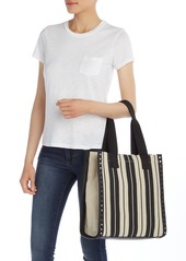 French Connection Fina Stripe Canvas Tote bag