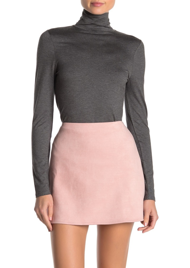 French Connection Fira Fitted Turtleneck Top