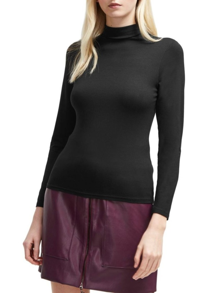 French Connection Fira Slinky Jersey Top