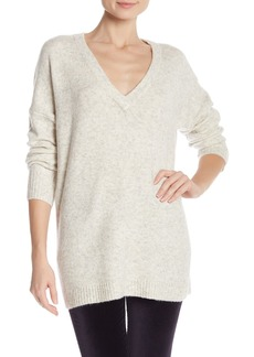 French Connection Flossy V-Neck Knit Sweater