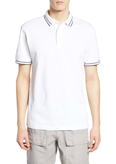 French Connection Slim Fit Tipped Piqué Polo
