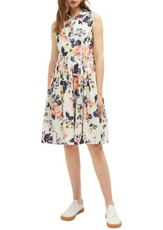 French Connection Acaena Cotton Voile Fit & Flare Dress