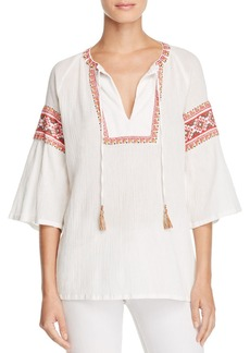 FRENCH CONNECTION Adanna Embroidered Top