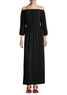 French Connection Adele Drape Maxi Dress