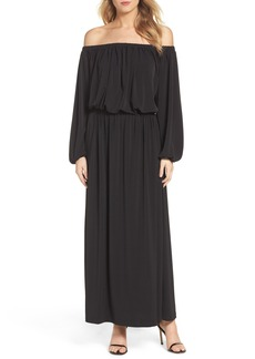 French Connection Adele Off the Shoulder Maxi Dress