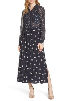 French Connection Adelise Maxi Shirtdress