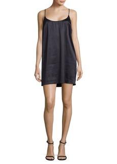 Afia Crinkle Slip Dress